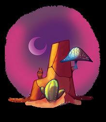 Desert Rock by Volcanic-Penguin