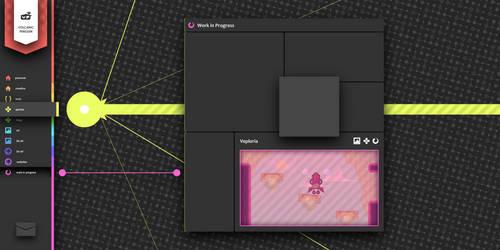 Website Design Concept by Volcanic-Penguin