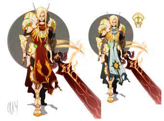 Lucius Bloodraven by Iseijin