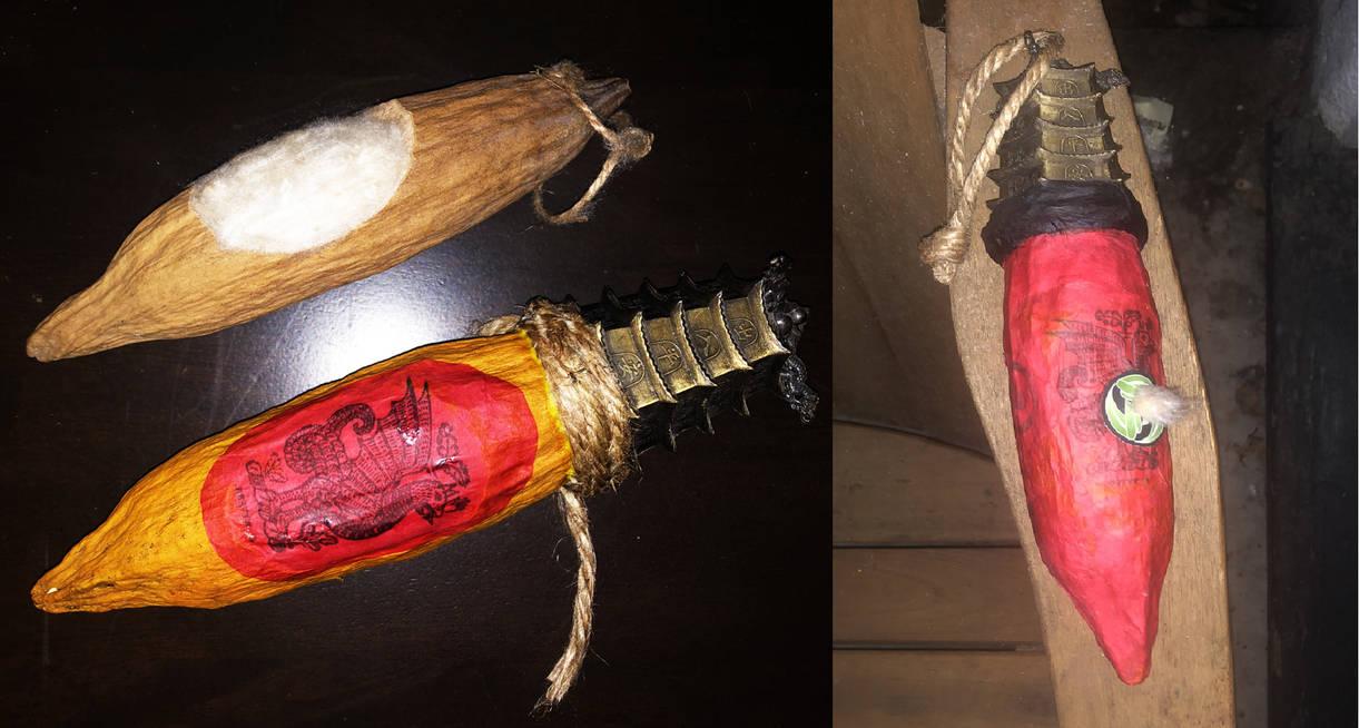 kapok fireball dispenser by Owlmaricus