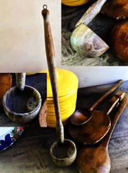 Vooden Goulash Ladle by Owlmaricus