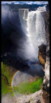Kaiteur Falls long panorama by jmbroscombe