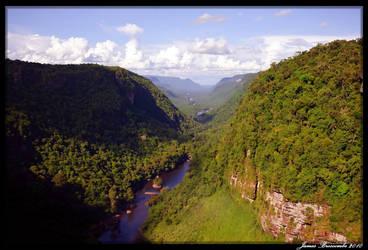 The Potaro Valley by jmbroscombe