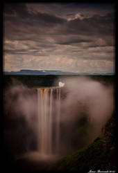 Kaiteur Falls at Dusk by jmbroscombe