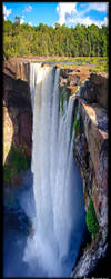 Kaituer Falls full drop by jmbroscombe