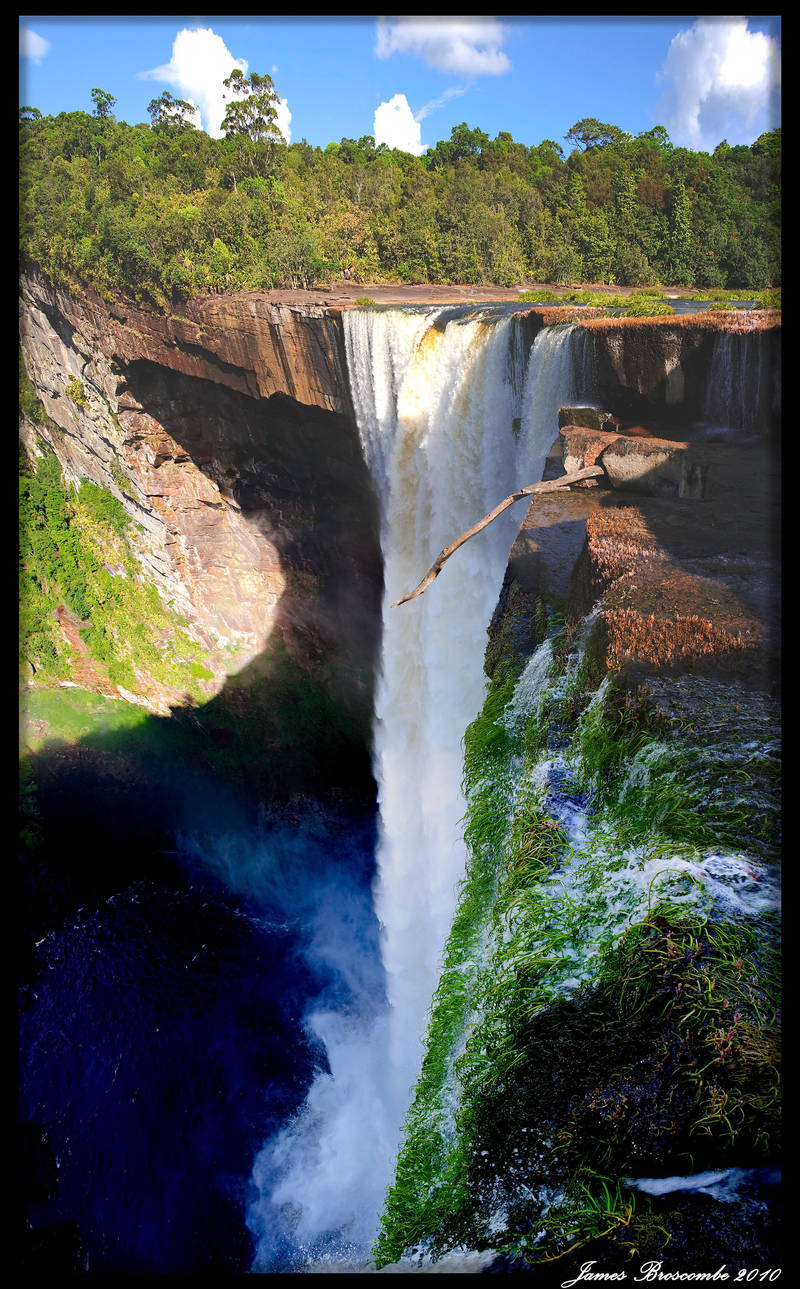 Kaiteur Falls long panorama 2 by jmbroscombe