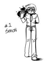 30 Character Chlng - simon by daughter-thursday