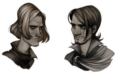 Tryggve and Dareth by Furipon