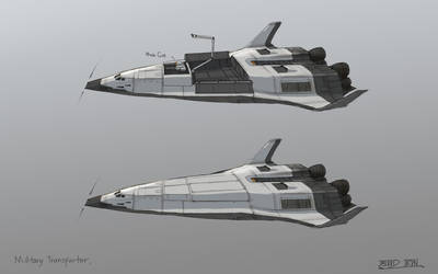 Military Transporter by BoodIron