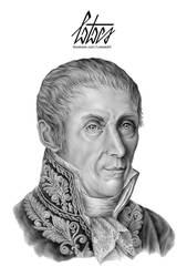 Alessandro Volta by Tiefenbacher