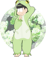 Green little baby by Kwitchi