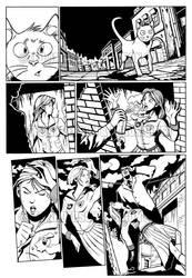 Peculiar Jones, page 3, inks by peculiarjones