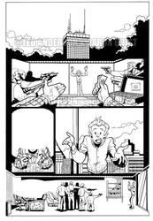 Peculiar Jones, page 5, inks by peculiarjones