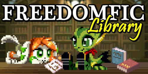 FreedomFic-Library Icon by Spookyrus