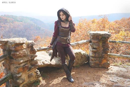 Serana, TESV: Skyrim- Dawnguard DLC by aprilgloriacosplay