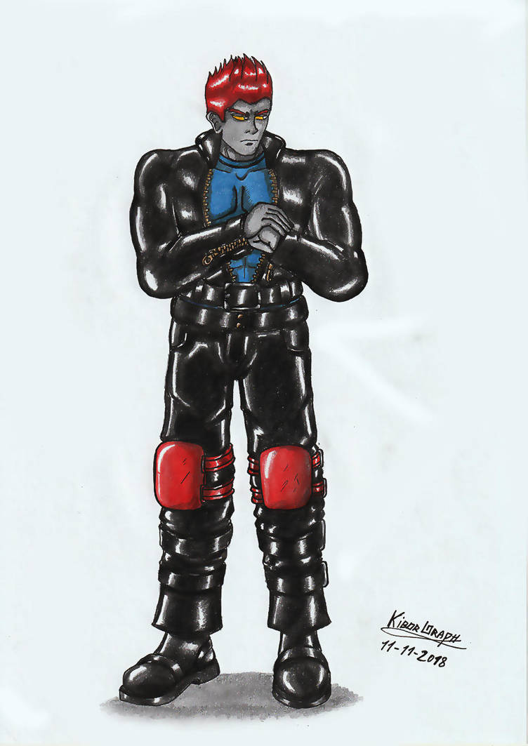 Commission - Jonah. by Kiborg-Graph