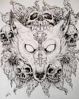 coywolf album cover inktober by TheWolfMaria