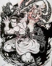 samurai jack by TheWolfMaria