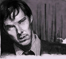 A sketch of Mr. Cumberbatch by velvet-toucher