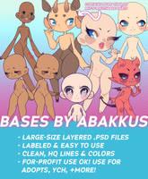 BASES BY ABAKKUS by helloabakkus
