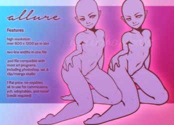 Allure Base | P2U | Cash + Points by helloabakkus