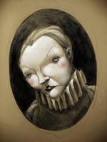 Mime portrait by novac