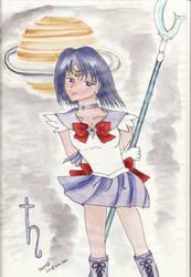 Sailor Saturn by Yukinounmei
