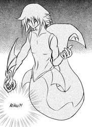 Whale Riku by rakyuu