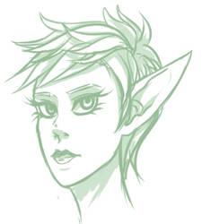 Elf again by rakyuu