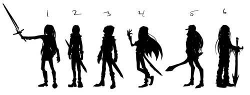 silhouette by rakyuu