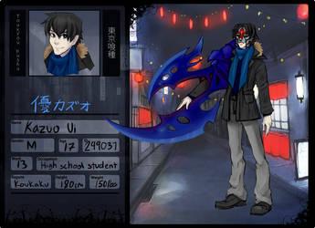 Kazuo Ui by rakyuu