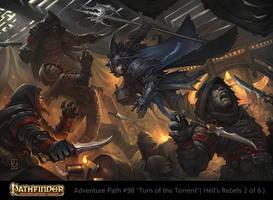 Pathfinder Adventure Path #98: Thieves Guild Raid by Dabana