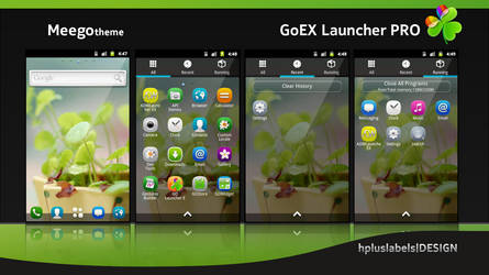 MeeGO_EX Launcher by hpluslabels