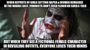 Joker slams Feminism by Jax1776