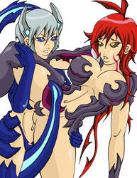 Witchblade Double Trouble by bittersweet155