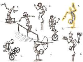 Balance Pose Study by Ambair