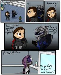 Mass Effect Outtakes by UnperfectStranger