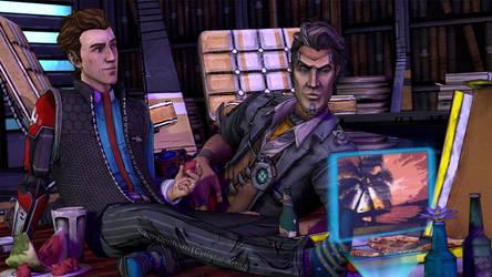 BLSummerBingo: Office Picnic by Cyristal-Artist