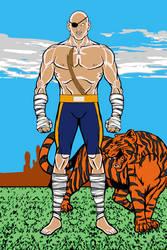 Sagat - Street Fighter by MetalHarbinger084