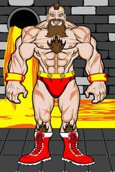 Zangief - Street Fighter II by MetalHarbinger084