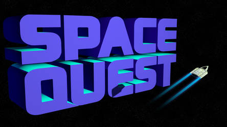 Space Quest 2 4k (Ship/Shadow/Trails) by MusicallyInspired