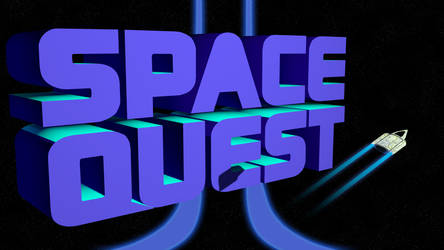Space Quest 2 4k (Ship/Shadow/Trails/II Streaks) by MusicallyInspired