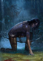Tomb Raider by volkanyenen