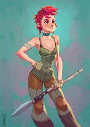 Lancer girls by volkanyenen