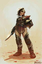 Gladiator by volkanyenen