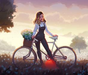 cycling tour by volkanyenen