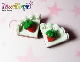 Strawberry keki comission by Sarudanya