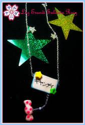 Candy stars by Sarudanya
