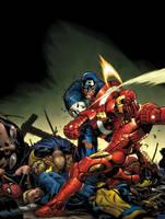 civil war by EdMcGuinness