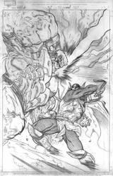 Hulk 5 cover pencils by EdMcGuinness